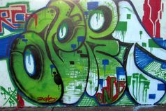 Urban art. Ops Royalty Free Stock Images