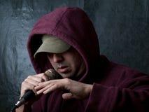 Urban artist - rapper Royalty Free Stock Photos