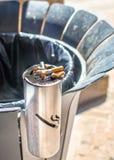 Urban ashtray Royalty Free Stock Photo