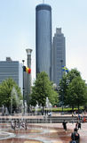 Urban Atlanta Royalty Free Stock Images