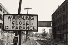 Urban Automotive Blight IV. Abandoned Automotive Factory - Worn, Broken and Forgotten royalty free stock photography