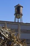 Urban Automotive Blight XIV - Abandoned Automotive Factory Stock Image