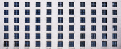 Urban backgound texture, square windows Royalty Free Stock Images