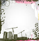 Urban background Royalty Free Stock Photography