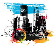 Urban background Royalty Free Stock Images