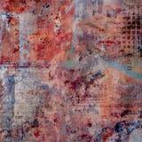 Urban background. Psychodelic grungy urban background collage Royalty Free Stock Photo