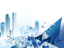 Urban Background. stock illustration