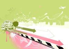 Urban background Stock Image
