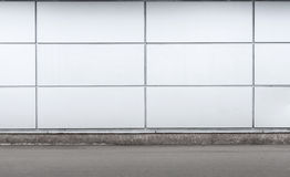 Urban background interior with gray wall Royalty Free Stock Photos