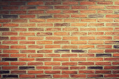 Urban background, red brick wall Royalty Free Stock Image