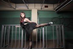 Urban ballerina Stock Image