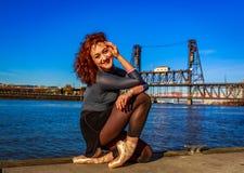 Urban Ballerina Stock Photography