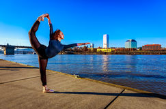 Urban Ballerina Stock Images
