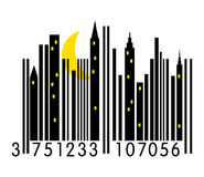 Urban Barcode Royalty Free Stock Photography