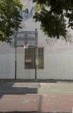 Urban Basketball Hoop Stock Photography