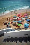 Urban Beach Scene Royalty Free Stock Photography