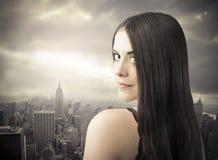Urban beauty Royalty Free Stock Image