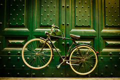Urban bicycle Royalty Free Stock Image