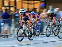 Urban Bicycle race Stock Photos