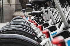 Urban bikes Stock Images