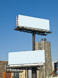 Urban Billboard Royalty Free Stock Photography