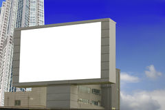 Urban Billboard Royalty Free Stock Photo