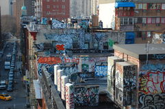 Urban Blight in New York City Stock Photos