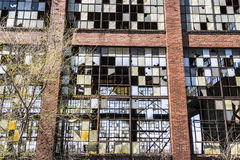 Urban Blight - Old Abandoned Railroad Factory VIII Stock Photos