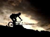 Urban BMX rider Stock Image