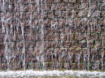 Urban Brick Fountain Royalty Free Stock Images