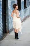 Urban Bride Stock Photography