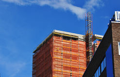 Urban building development stock image