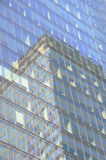 Urban Building & Reflection Royalty Free Stock Photo