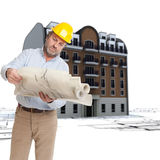 Urban building renovation Royalty Free Stock Photo