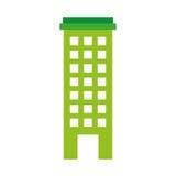 Urban building tower. Vector illustration graphic design Stock Photo