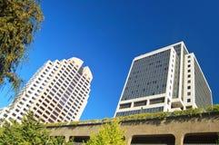Urban buildings. Modern office buildings Stock Photo