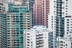 Urban buildings background Royalty Free Stock Photos
