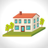 Urban buildings graphic. Design,  illustration eps10 Stock Photo