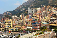 Urban buildings in Monte Carlo, Monaco. Stock Image