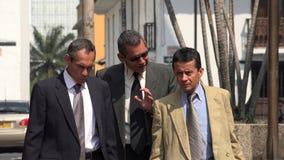 Urban Business Men Walking. Photo Royalty Free Stock Photography