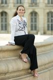Urban business woman Stock Images