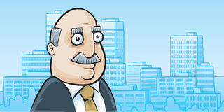 Urban Businessman Stock Photo