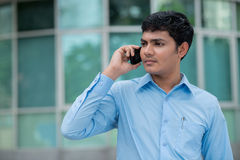 Urban call Stock Photography