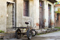 Urban Camaguey Cuba royalty free stock photo