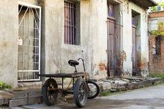 Urban Camaguey Kuba Royaltyfri Foto