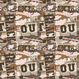 Urban camouflage seamless pattern. All over mimetic pattern for active and street wear royalty free illustration