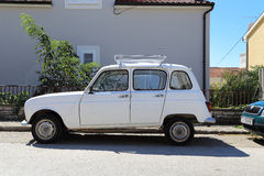 Urban car Renault 4 Stock Photo