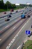 Urban car traffic Royalty Free Stock Image