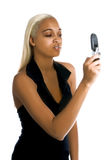 Urban Cell Phone Woman Royalty Free Stock Photography