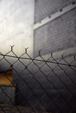 URBAN CHAIN LINK FENCE Stock Photos